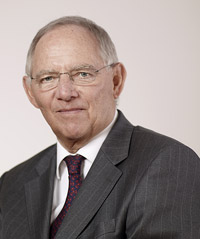 Foto Dr. Wolfgang Schäuble: CDU-Laurence Chaperon
